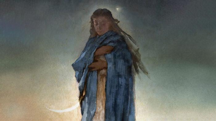 Witold Pruszkowski - Madonna 1920x1080